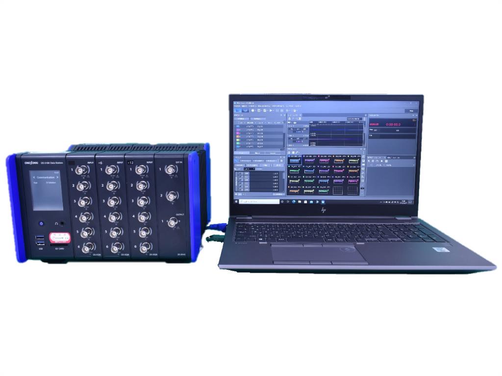リオン製 データレコーダ(8ch) DS-5000